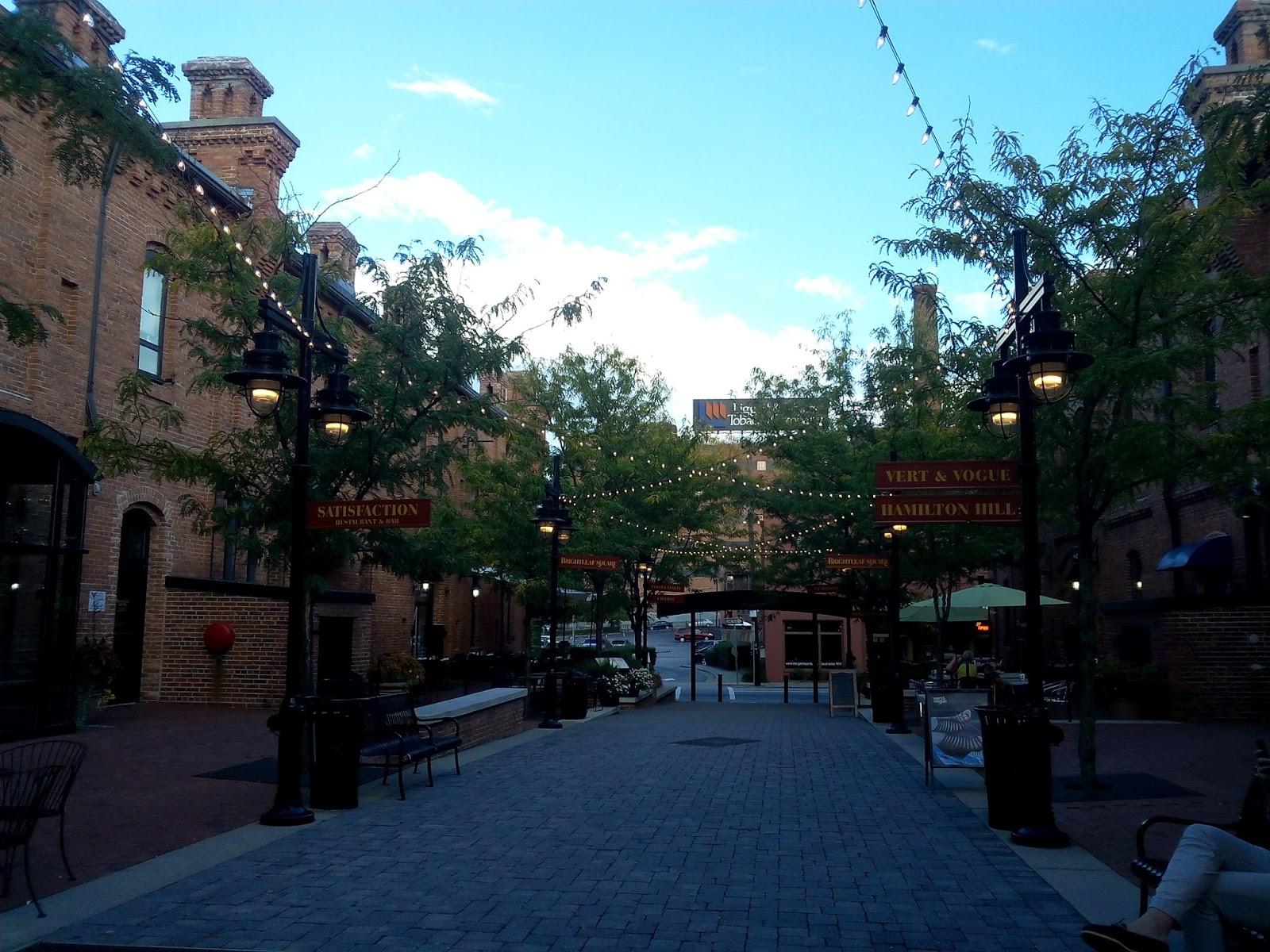 Durham, north carolina, usa, expatriation, expatriation, brightleaf, main street,