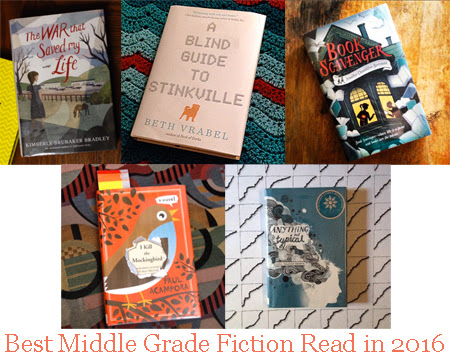 Best Middle Grade Fiction Read in 2016