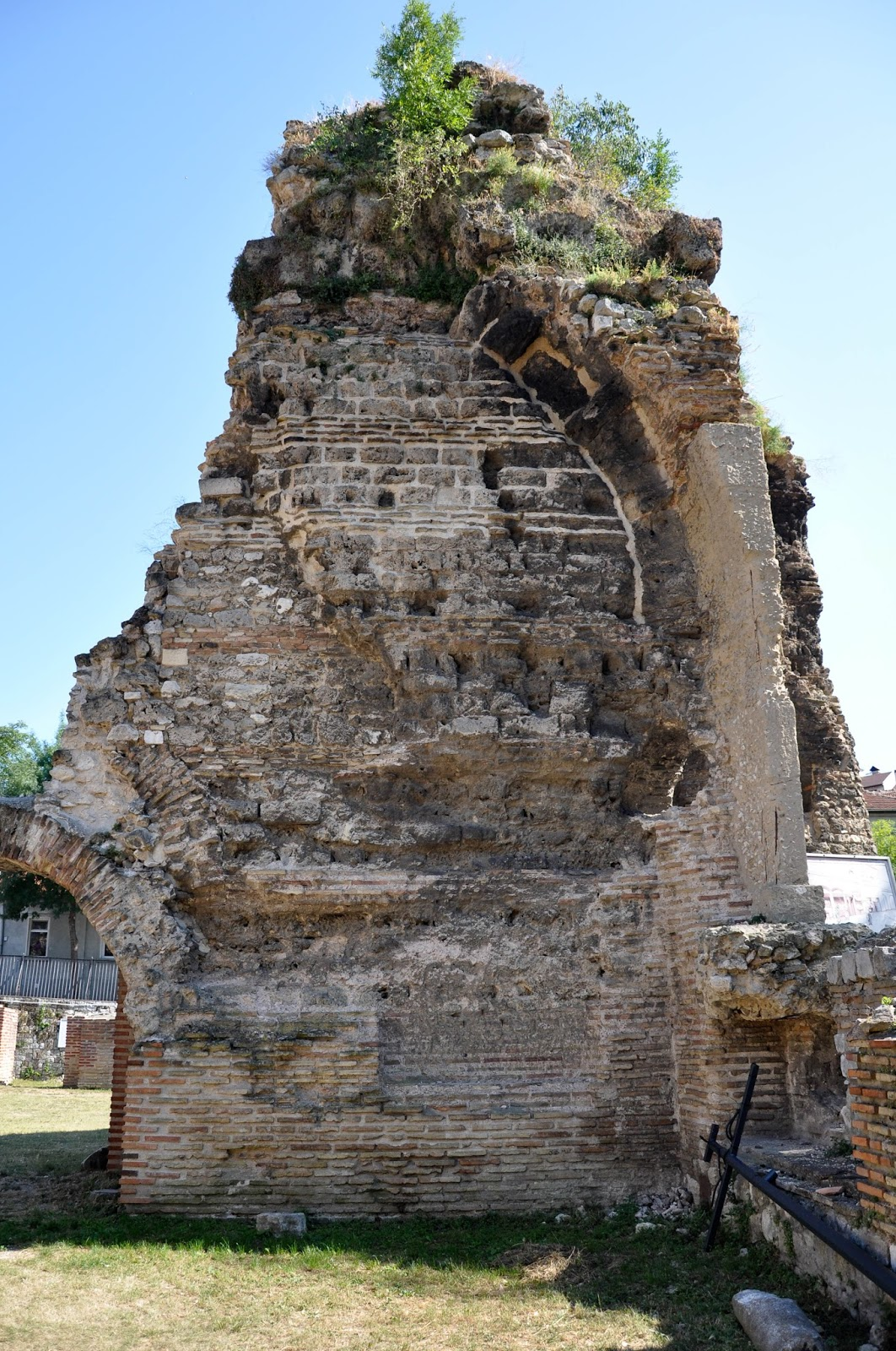 Ancient arch, The Roman Thermae, Varna, Bulgaria