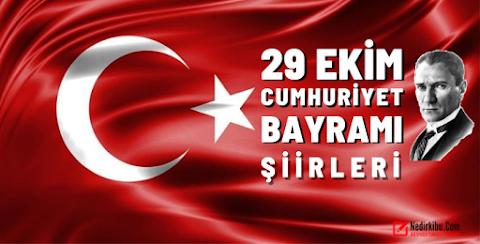 29 Ekim Cumhuriyet Bayramı İle İlgili Şiirler