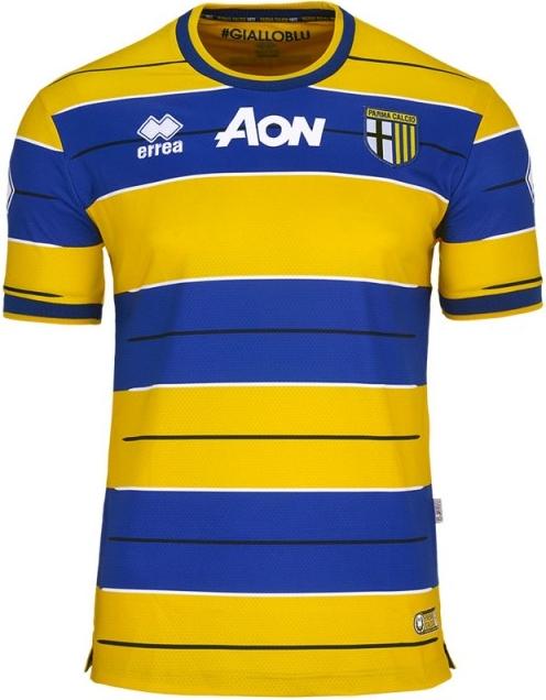 051ffd2ab263b Errea divulga as novas camisas do Parma - Show de Camisas