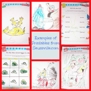 Now Another Exciting Resource For Dr Seuss Is Seussville You Can Visit There And Find Games Activities Printables In The Teacher Parent