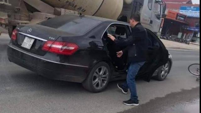 Cán bộ Công an giàu có lái Mercedes gây tai nạn chết người