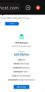 Dreamhost VPS hostings Plans