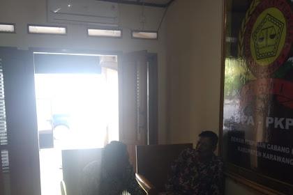 Aktivitas Kantor DPC HAPI KABUPATEN KARAWANG Pada Rabu 22 Januari 2020