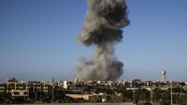"""Protestan en Libia contra la """"muerte de civiles"""" en ataque de EEUU"""