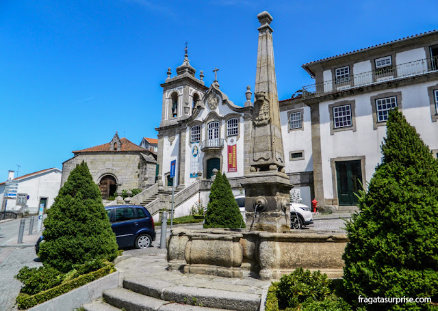Igreja da Misericórdia de Seia, na Serra da Estrela, Portugal