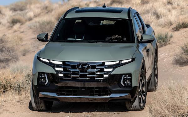 Hyundai Santa Cruz: picape média tem imagens vazadas antes do lançamento