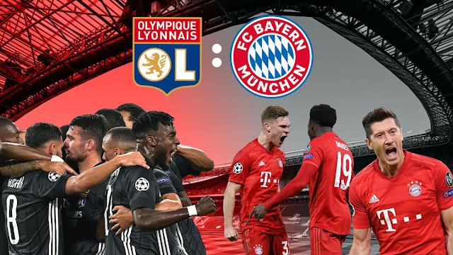 موعد مباراة بايرن ميونخ ضد ليون والقنوات الناقلة الأربعاء 19 أغسطس 2020 في الدور نصف النهائي من دوري أبطال أوروبا