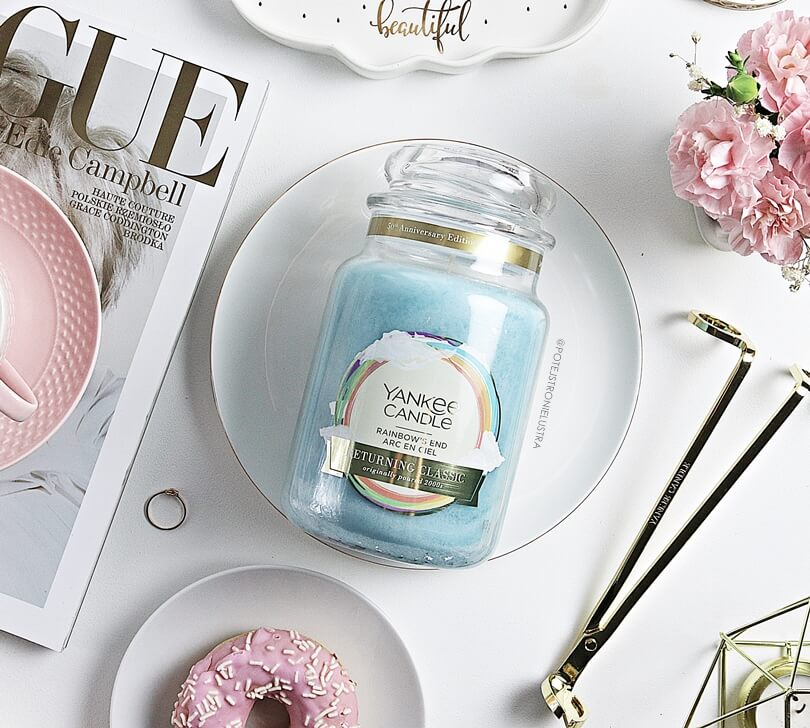 yankee candle rainbow's end 50th anniversary collection