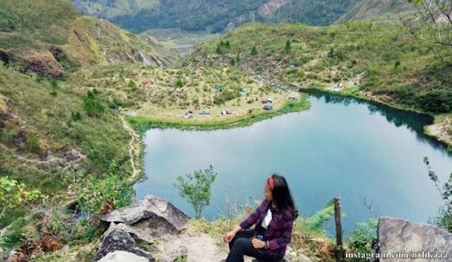 Keindahan Wisata Danau Tanralili di Kabupaten Gowa