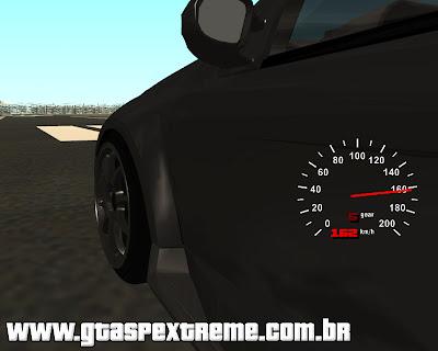 Velocímetro Analógico + Digital CLEO para GTA San Andreas