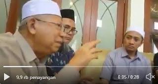 Kembali Viral, Video Ma'ruf Amin: Ahok Sumber Konflik, Bangsa ini Akan Konflik Tidak Akan Berhenti