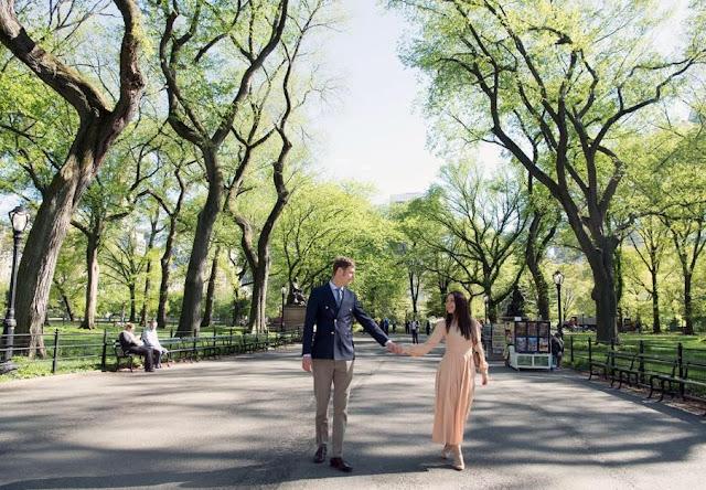 Prince Leka and Elia Zaharia happier than ever in New York