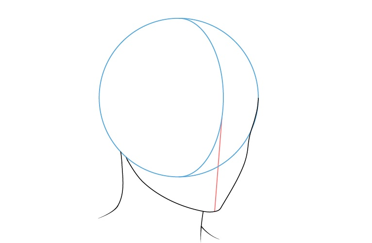 Anime pria leher 3/4 gambar tampilan