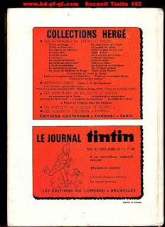 Recueil du journal Tintin, numéro 152, 1980