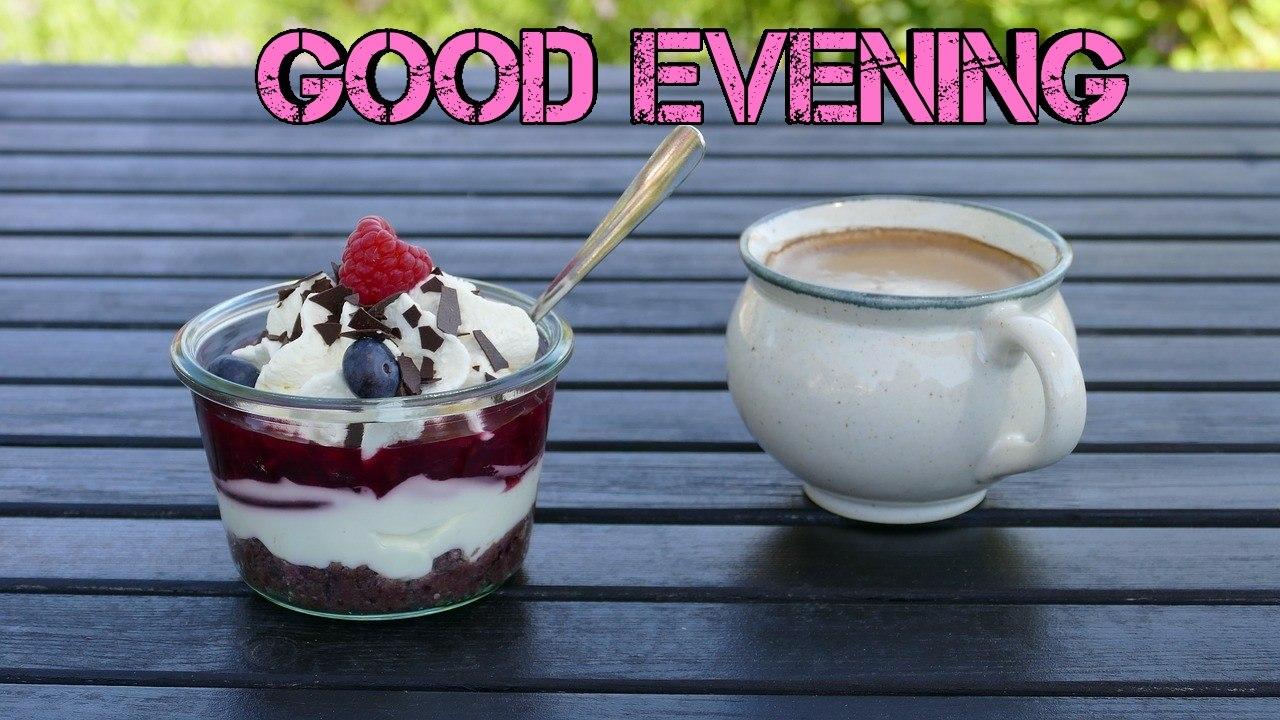 good evening tea image
