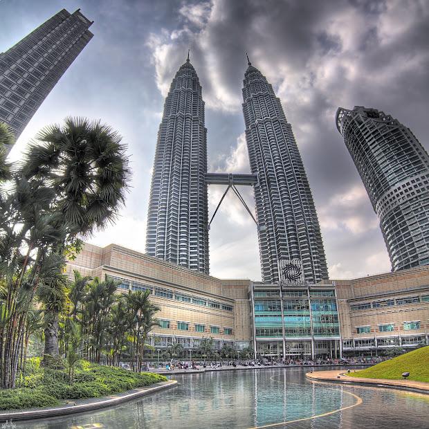 Structures Petronas Towers Kuala Lumpur Malaysia