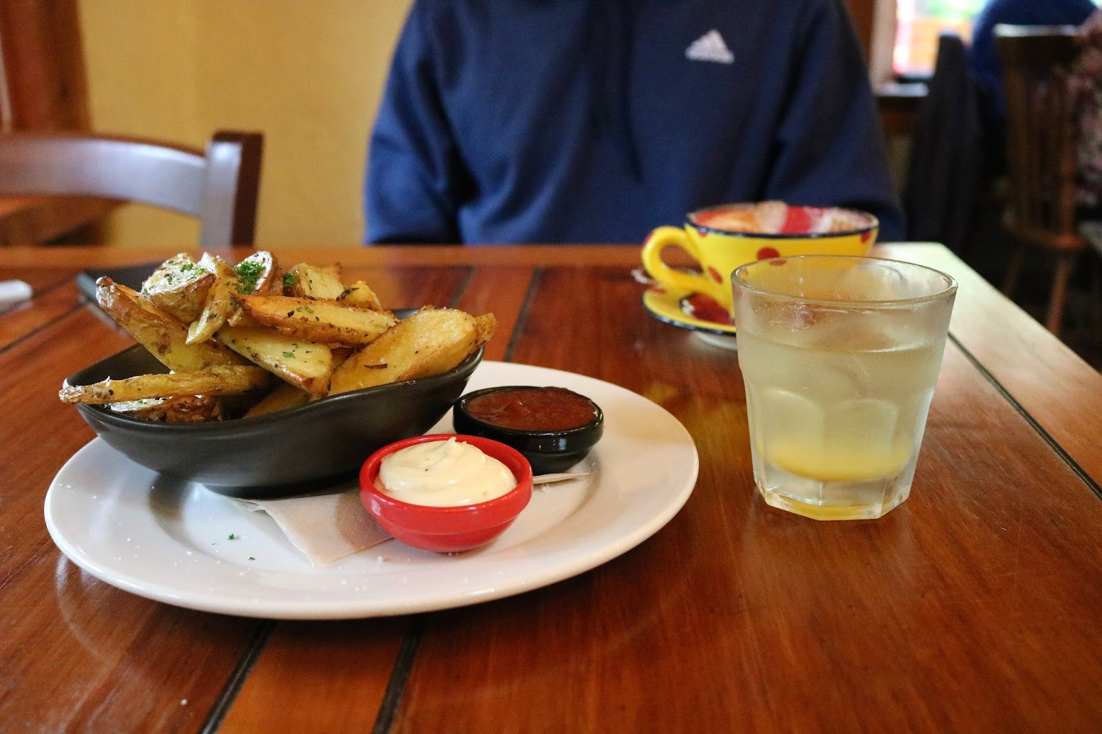 Potato wedges from The Jester House in Nelson, New Zealand
