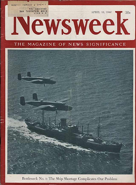 Newsweek magazine, 13 April 1942 worldwartwo.filminspector.com
