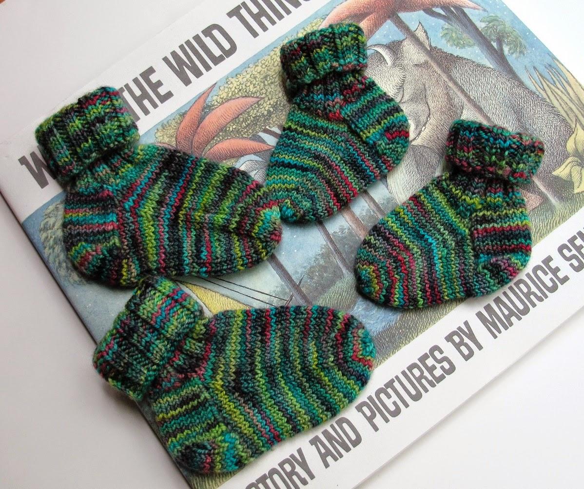 Kate Atherley Knits. A Lot. Mainly Socks.: Baby Sock ...