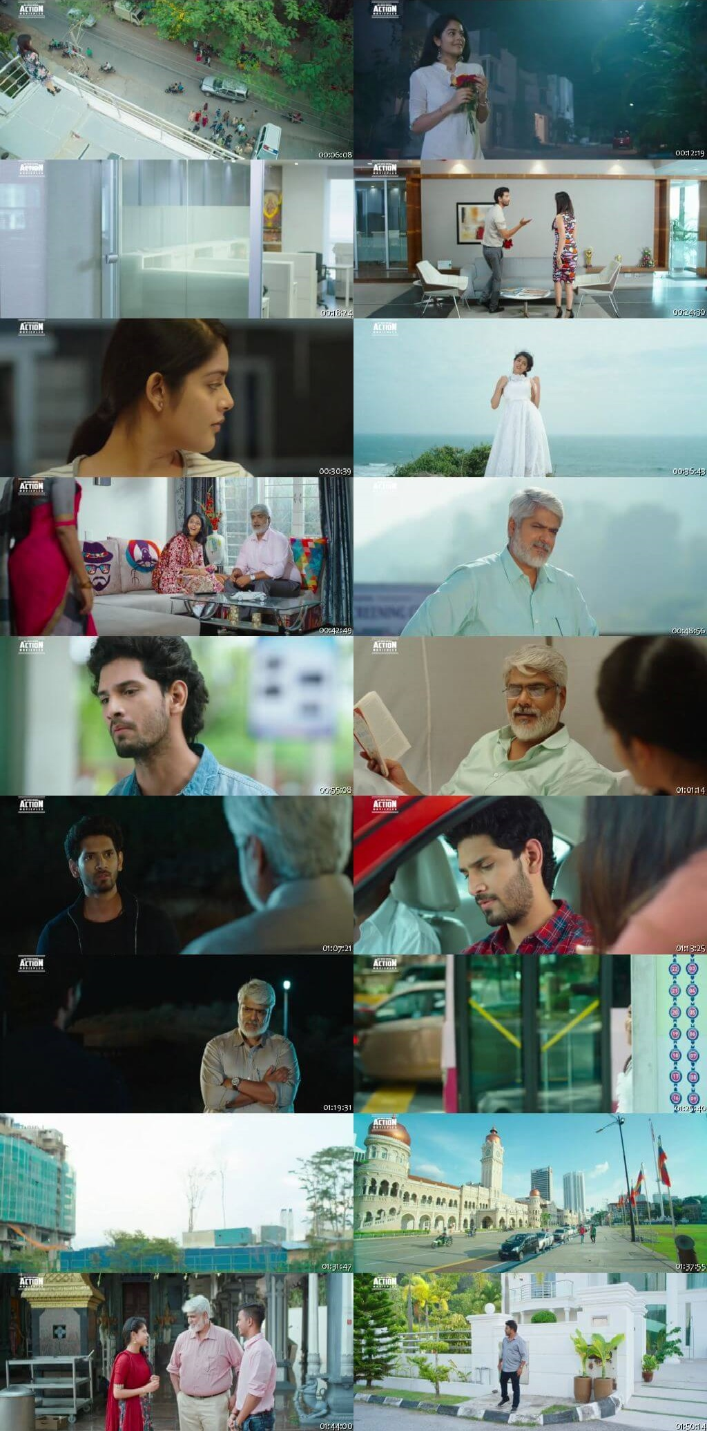 Screen Shot Of Tollywood Movie Zakhmi Romeo 2019 Full Movie In Hindi Dubbed Free download 720P HD