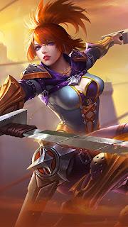 Fanny Blade Dancer Heroes Assassin of Skins V3
