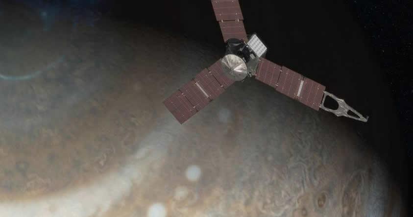 Transmisión en vivo de la sonda espacial Juno en su ingreso a la órbita de Júpiter