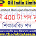 Oil India Apprentice Recruitment 2021: Apply Online for 400 Posts