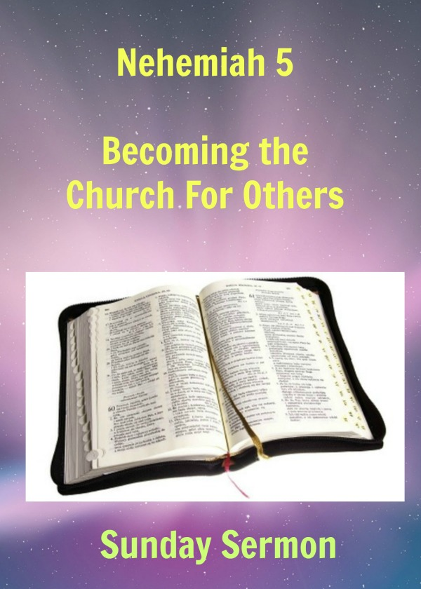 Sunday Sermon: God's emerging future: becoming the church for others