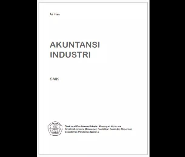 Buku SMK Bisnis Manajemen Akuntansi Industri