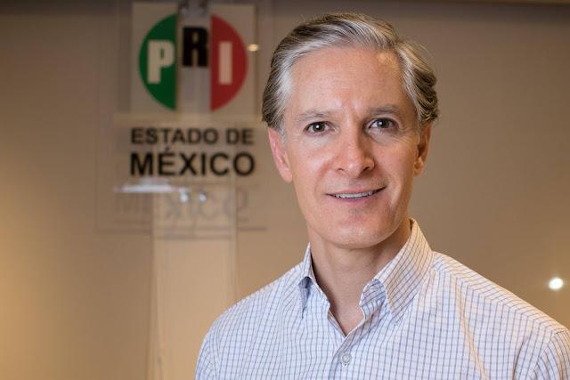 """Alfredo del Mazo: """"Los cambios en el Estado de México los puedo dar yo"""""""