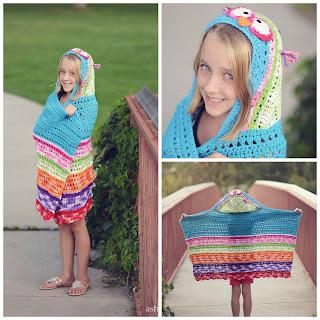 Battle Bird Hooded Towel & Blanket by Snappy Tots