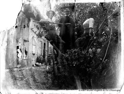 Vieille photo noir et blanc, à identifier