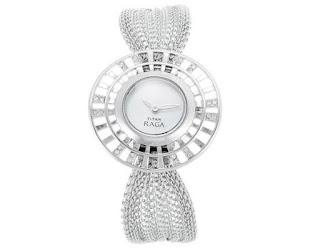 Titan Raga Analog Mother of Pearl Women Watch