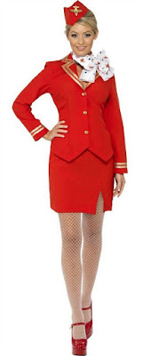 80s Air Hostess Costume