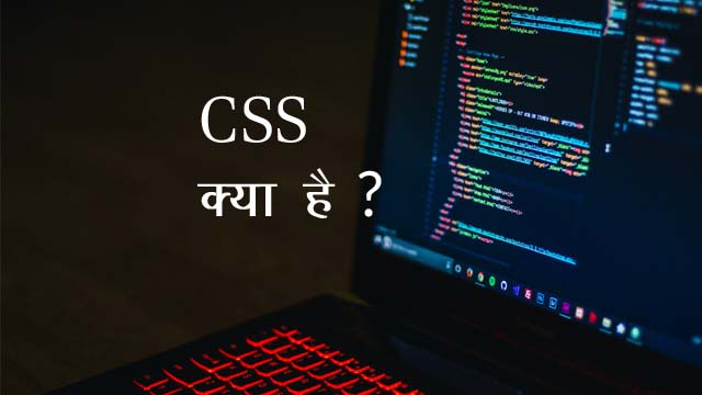 What is CSS in Hindi,CSS Tutorial for Beginners in Hindi,CSS क्या है?,CSS का क्या उपयोग है?