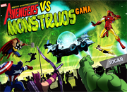 juegos de accion avengers vs monstruos gama