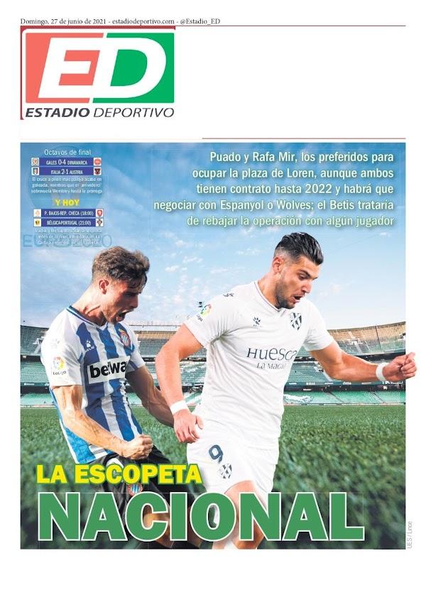 """Betis, Estadio Deportivo: """"La escopeta nacional"""""""