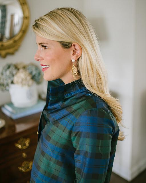 Meg Carter Brindille du Gui Earrings