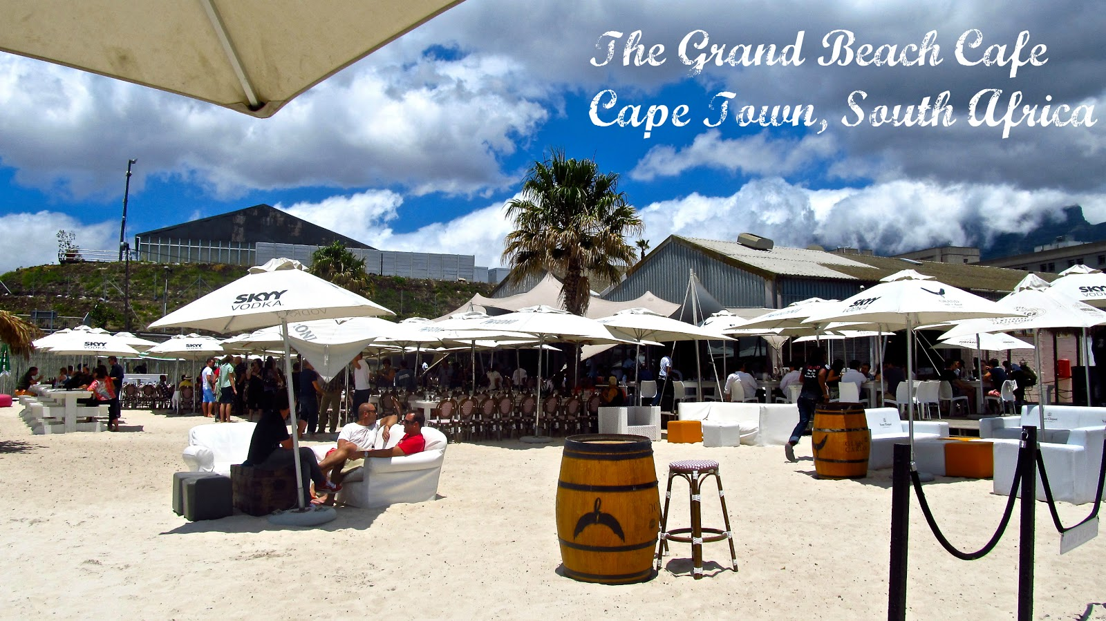 Midday Mojitos And Bubbly At The Grand Beach Cafe