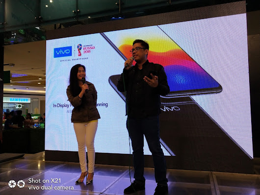 VIVO X21: AN EYE-CATCHER AT THE MOBILE FEST 2018