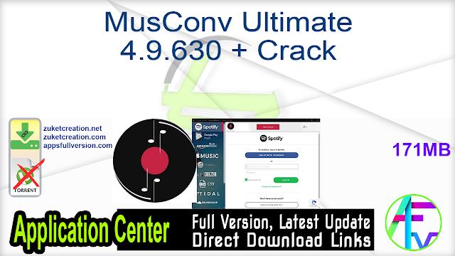 MusConv Ultimate 4.9.630 + Crack