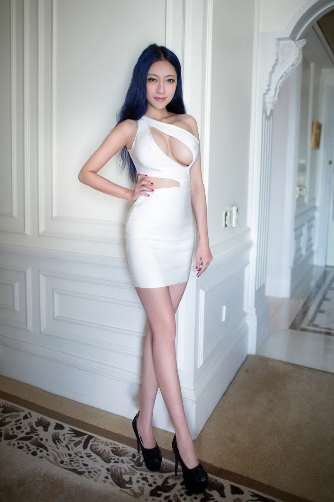 48%2B%25282%2529 - Sexy Girl Nude TUIGIRL NO.48 Model