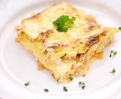 Vegetarian lasagna (easy)