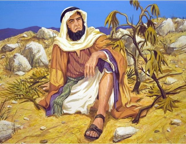 What lesson did God want to teach Jonah in the story of the gourd and the worm?