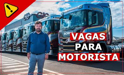 vaga para motorista em Mato Grosso
