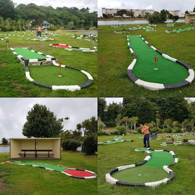 TT Putting Crazy Golf course in Ramsey on the Isle of Man