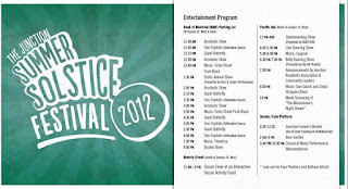 Postcard: Toronto Junction Summer Solstice Festival 2012 Program
