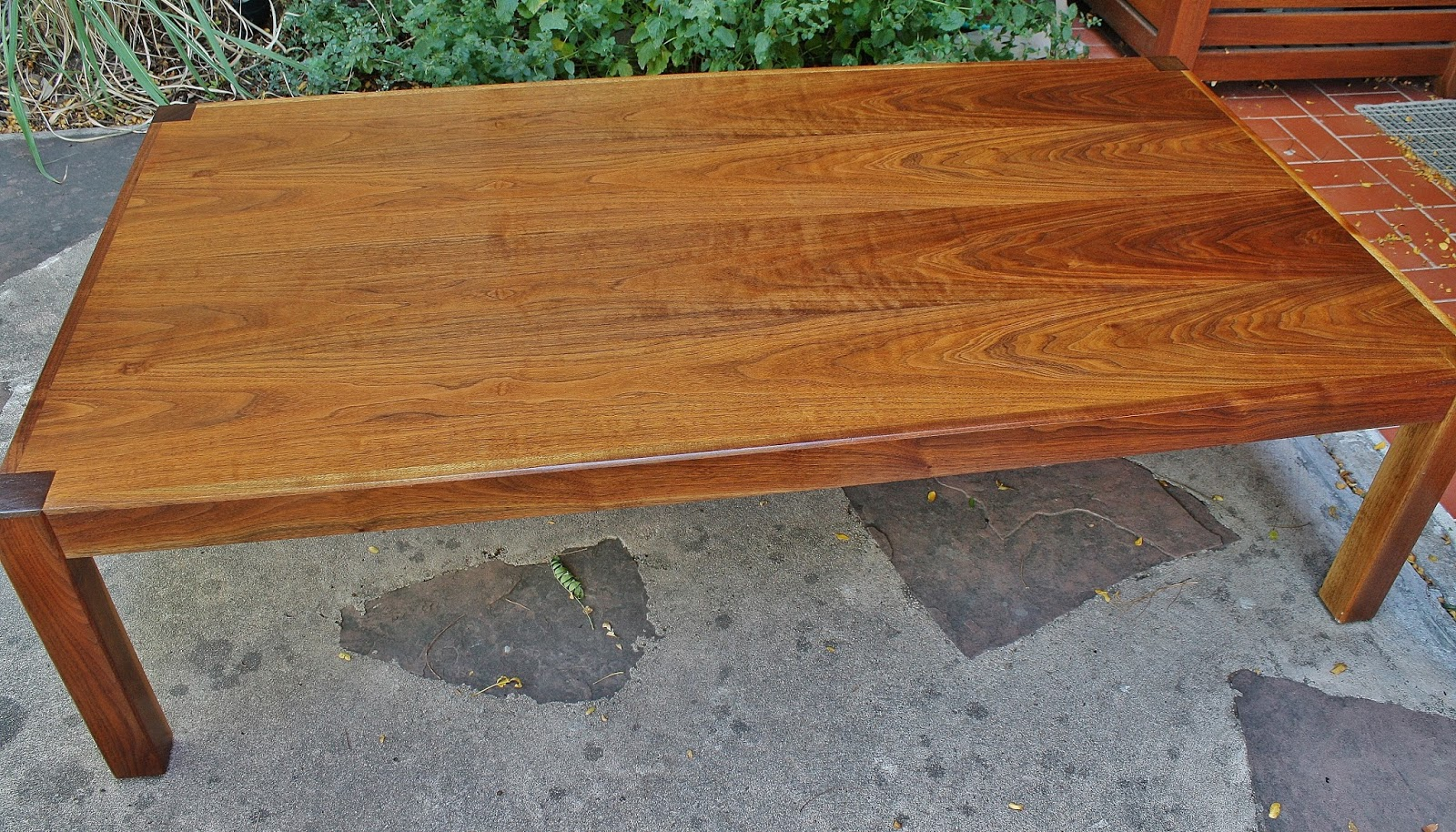 Modwerks: Large Low Vintage Walnut Coffee Table